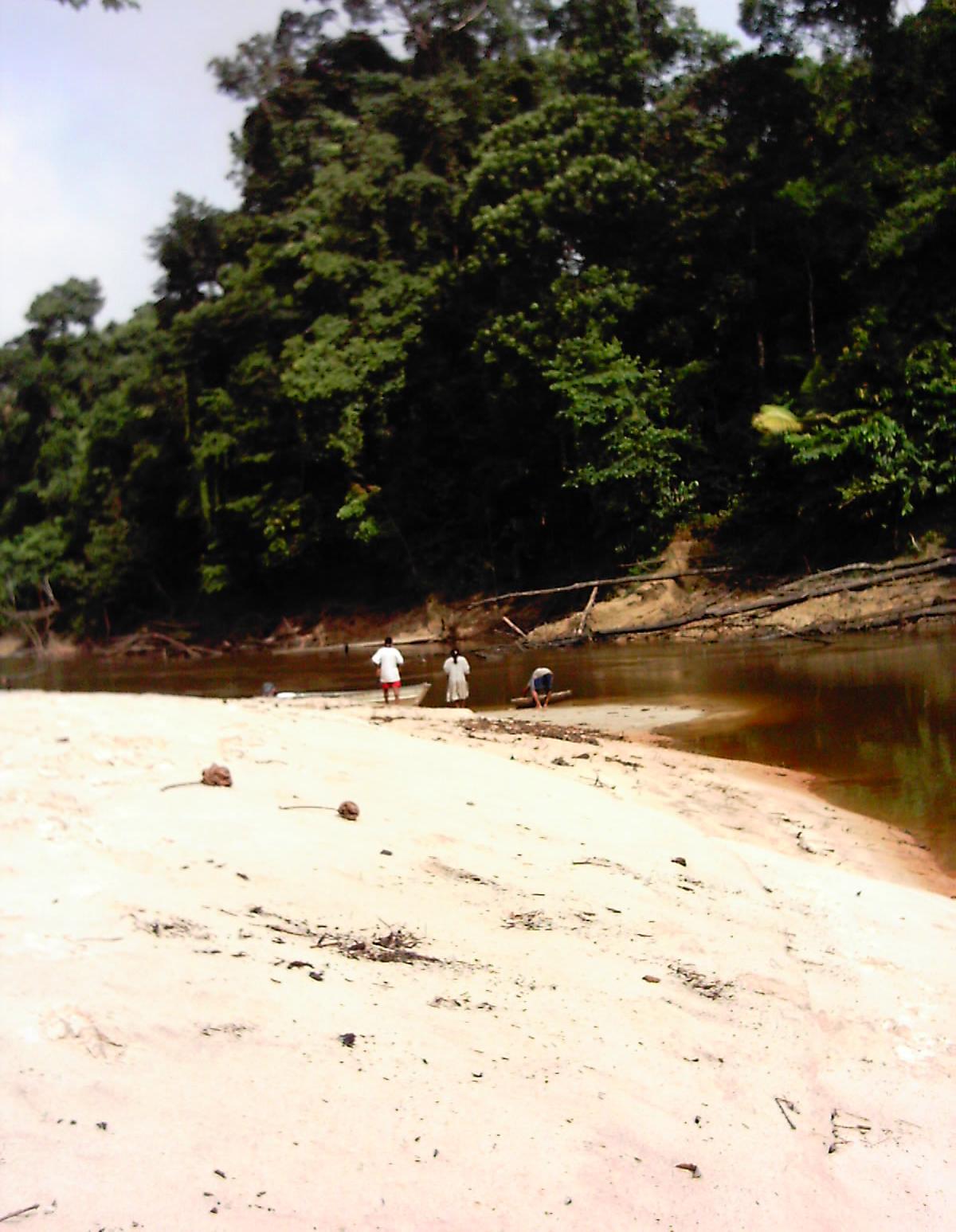 dry season river