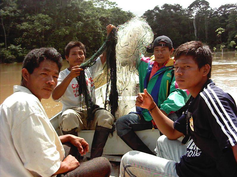 Illegale visnetten weg gehaald