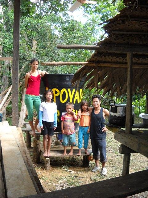 Family Moran-Cayetano