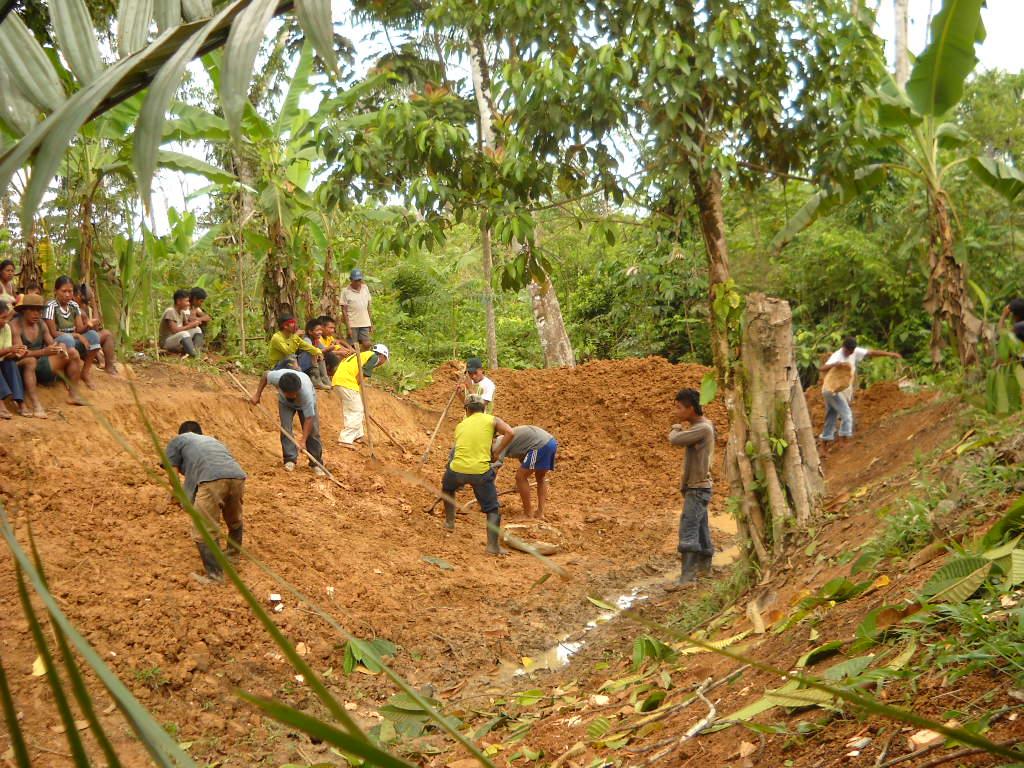 Digging..