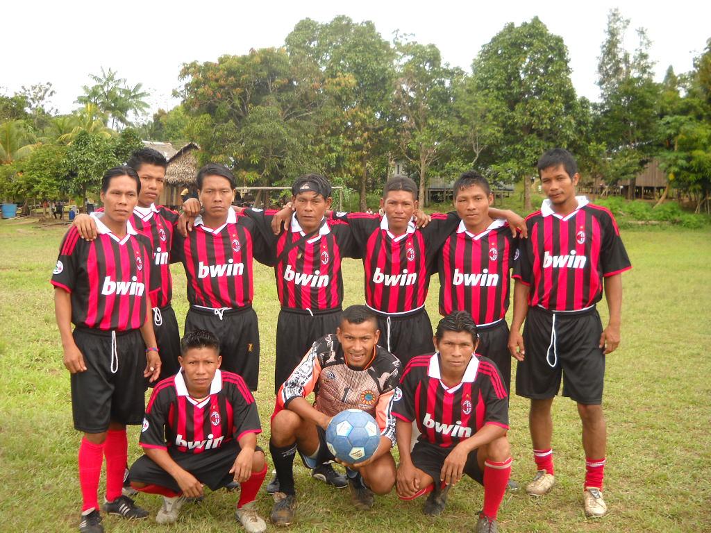 San Martin AC Milan team