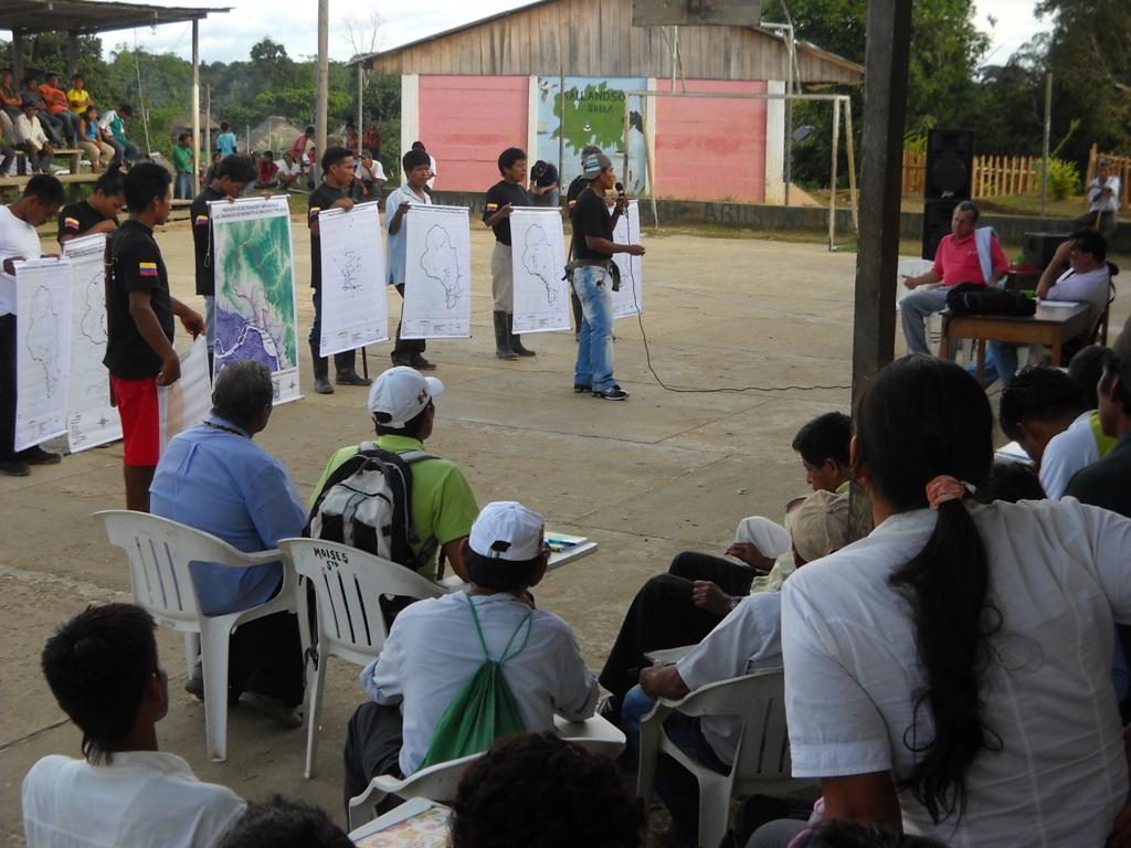 Public meeting in San Martin