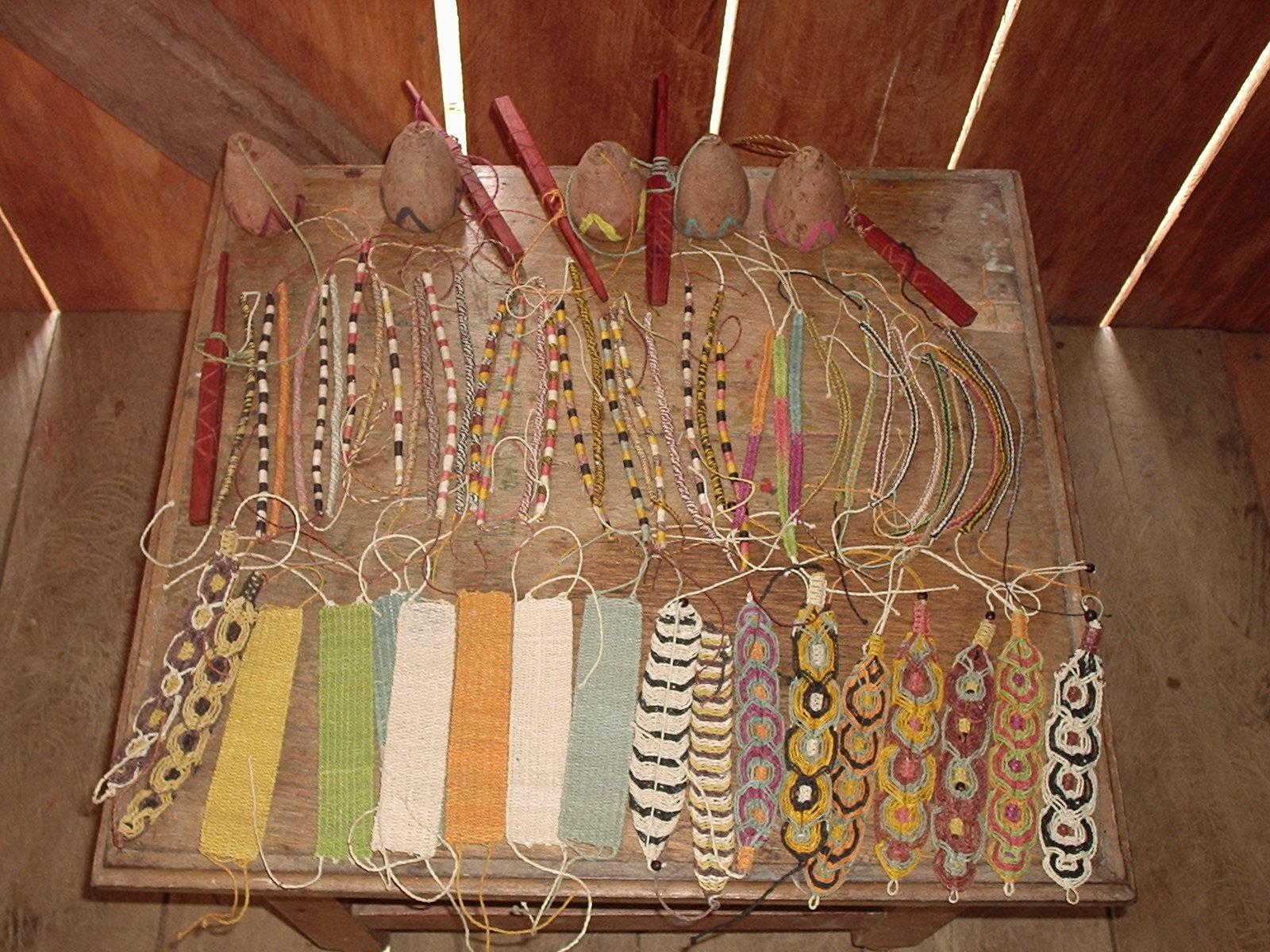 Chambira bracelets